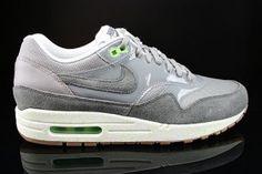 Nike Air Max 1 Dames Groen Grijs Lichtgroen Varen Wit Grijs Schoenen 319986 024 kopen Factory Store Belgie