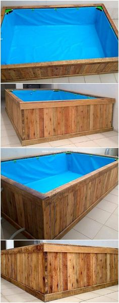 Convert Recycled Shipping Pallets into Useful Things: I am getting to recognize about such a lot of terrific ideas and improving thoughts of the wood pallet creation which. Outdoor Projects, Pallet Projects, Outdoor Decor, Pallet Furniture, Furniture Projects, Kid Pool, Shipping Pallets, Pallet Creations, Recycled Crafts