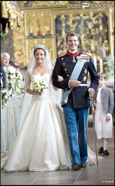Prince Joachim of Denmark & Marie Cavallier | Royalty | Danish Royal Wedding 2008