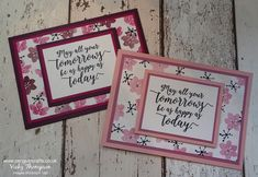 Welcome back to another Crete a Card Tuesday; today I bring you a stunning card, where you create your own Design Series Paper background. I love this tec