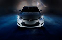 The Hyundai Veloster is truly a one-of-a-kind vehicle. Its sporty design gives it the appearance of a coupe, while its hatchback makes it one of the more practical small cars on the market. 2015 Hyundai Veloster, Veloster Turbo, Hyundai Cars, Small Cars, Cute Images, Dream Cars, Iron Man, Photo Galleries, Automobile