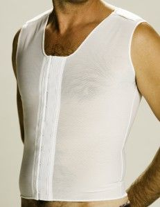 eb7ee4737c Morris Designs  Gynecomastia Vest is our most popular men s compression  vest. Also the Zippered Male Vest with reinforced chest.