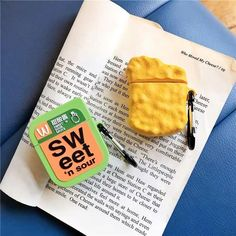 Cute Chicken Nuggets Sweet And Sour Sauce Silicone Earphone Case For Apple New AirPods Wireless Bluetooth Headset Cover - AS PIC 12 Source by CreativeDreamscape cute