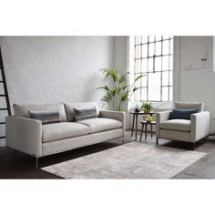 Buy Coney Slate Duresta Jasper Large 3 Seater Sofa from our Sofas & Sofa Beds range at John Lewis & Partners. Sofa Bed, Couch, 3 Seater Sofa, Contemporary, Modern, Slate, Sofas, Cushions, Jasper