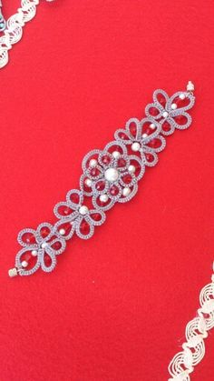 Bracciale ..... lovely tatted jewellery made by Lina Pellicane