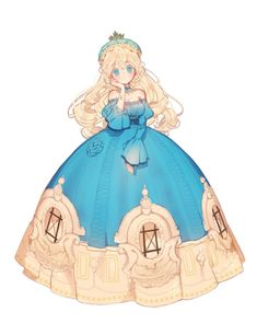 a fan of the art style but i LOVE the concept! Anime Art Girl, Manga Girl, Manga Anime, Dibujos Anime Chibi, Anime Princess, Beautiful Anime Girl, Anime Outfits, Character Design Inspiration, Anime Style