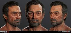 Now that Uncharted 4 has been released I'm finally able to show some of my work from the game.  Big thanks to our programmers, riggers, animators, and lighting artists for making our characters look as good as they can at 30fps in-game.  Our amazing concept team was an integral part of our final look, and went over and above to see their initial sketch to game completion.  I worked on the title screen skeleton, a mass of enemy and crowd pieces, Hector Alcazar, and various adjustments to…