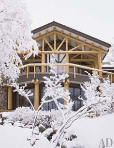 Rustic Exterior by Atelier AM and Finholm Architects in Aspen, Colorado