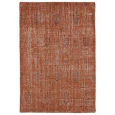 Hand-Knotted Vintage Replica Orange Wool Rug (4'0 x 6'0) | Overstock.com Shopping - Great Deals on 3x5 - 4x6 Rugs