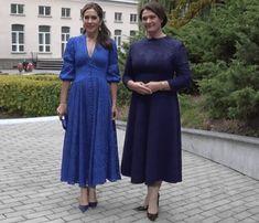 Cobalt Dress, Prince Frederick, Queen Margrethe Ii, Danish Royal Family, Crown Princess Mary, Mary Elizabeth, Bridesmaid Dresses, Wedding Dresses, Lady Diana