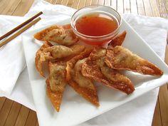 Vegetable Fried Wontons  #dumplings