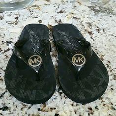 Michael Kors Flip Flops Black Flip  Flops. Michael Kors Shoes Sandals