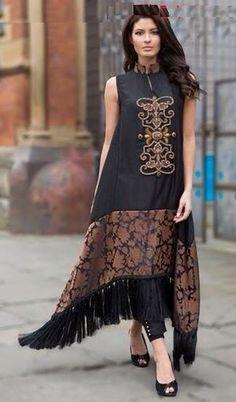 N para vestir beautiful house pictures - House Beautiful Kurta Designs, Blouse Designs, Pakistani Dresses, Indian Dresses, Indian Outfits, Stylish Dresses, Casual Dresses, Fashion Dresses, Batik Fashion
