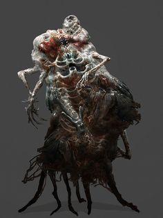 Necromorph 2 by Chenthooran on DeviantArt