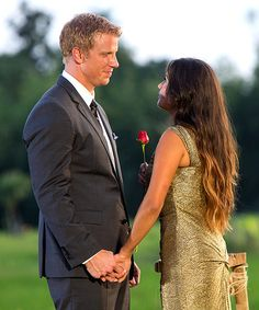 Sean and Catherine - The Bachelor  - love them together - I think this bachelor is actually going to get married! (only 1 has done so - 2 bachelorettes did but only 1 bachelor)