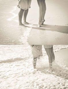 Beach Couple Photo Shoot