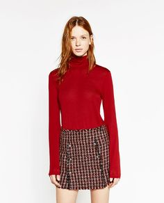 Image 2 of TURTLE NECK TOP from Zara