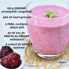 Sănătate la pahar cu SEMINȚE și NUCI - Servus Expert Healthy Smoothies, Smoothie Recipes, Different Recipes, Milkshake, Cake Cookies, Deserts, Food And Drink, Healthy Recipes, Healthy Food