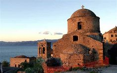 One of my favorite places—Monemvasia in Peloponnese, Greece