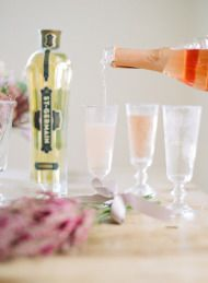 St-Germain Signature Cocktail Inspired by Soft Romance - Style Me Pretty