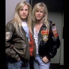 No one better personified early '90s cheese like Gunnar Nelson (left, we think) and his equally ridiculously maned twin brother, Matthew (right, we think).