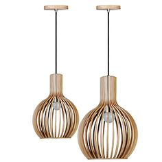 Adjustable Pendant with plywood shade Available in 2 sizes: Large Diameter: 450 & height Small Diameter: 230 & Height Plywood, Ceiling Lights, Lighting, Retro, Pendant, Interior, Home Decor, Clouds, Hardwood Plywood