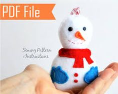 Image result for Christmas felt pattern