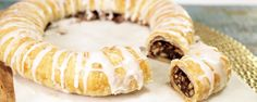 Pecan Kringle Recipe | The Chew - ABC.com  -  Get ready to add some Holiday cheer with this delicious Pecan Kringle!