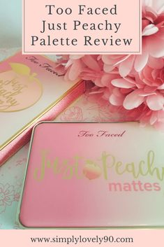 Looking for a new eyeshadow palette to round out your makeup collection? Pick up this Just Peachy Mattes palette from Too Faced! #makeupgoals  #beautycollection #eyeshadowpalette #makeuppalette #toofaced #beauty #eyeshadow
