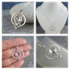 Crystal Quartz Blossom Drop - variation | JewelryLessons.com