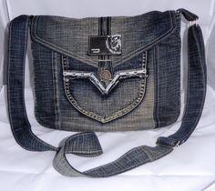 Denim bag, old jeans&shirt, #Denimbag, #recycleddenim, #handmade