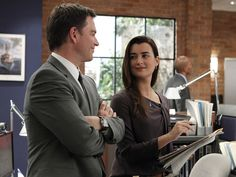 NCIS - The perfect pair.