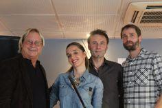 Ned, Johan Czerneski, and Stéphane Pointeaux, Belushi's Acoustic Showcase For Women In Music, Paris, 2017