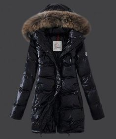 Cheap 2013 New! Moncler Euramerican Style Down Coats Womens Black sale - Moncler Outlet online