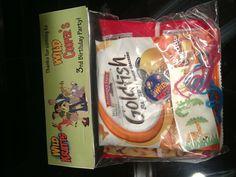 Wild Kratt goody bags