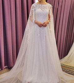 Robe de mariage   Robes de mariage 2016 À Manches Longues Dentelle Robe De  Mariée Princesse 96634c7edd2b