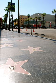 Walk of Fame, Los Angeles, California ✔️ March 2012