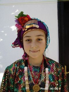 Muğla Milas Folk Costume, Costumes, Indian Hindi, Blue Green Eyes, Belleza Natural, Central Asia, Muslim Fashion, Festival Outfits, People Around The World