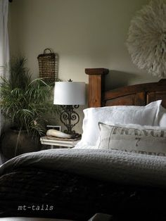 master bedroom - love the look of this.