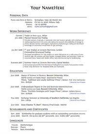 High School Resume Examples and Writing Tips