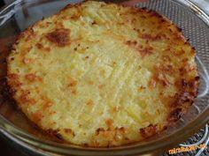 Cheddarové zemiaky.