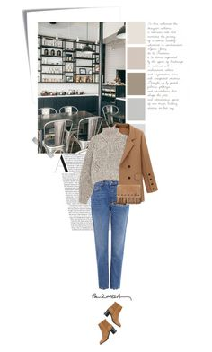 """""""Untitled #1463"""" by beingaries ❤ liked on Polyvore featuring Post-It, Coffee Shop, 10 Crosby Derek Lam, Isabel Marant, Longchamp and rag & bone"""