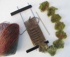 Wind Rose Fiber Studio: hairpin lace