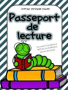 Donnez à vos élèves le défi de lire 4 textes de 12 différents genres dans ce passeport de lecture!