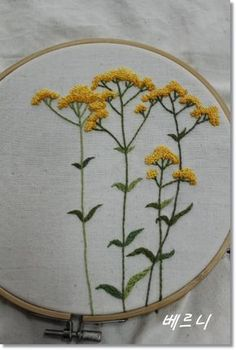 Wonderful Ribbon Embroidery Flowers by Hand Ideas. Enchanting Ribbon Embroidery Flowers by Hand Ideas. Embroidery Designs, Floral Embroidery Patterns, Hand Embroidery Stitches, Modern Embroidery, Embroidery Hoop Art, Ribbon Embroidery, Embroidered Flowers, Cross Stitch Embroidery, Simple Embroidery