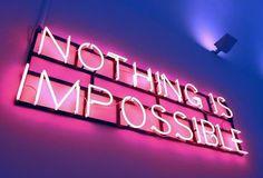 Imagem de light, quotes, and neon Disco Licht, Neon Licht, Fred Instagram, Disney Instagram, Instagram Wall, Neon Quotes, Pink Quotes, Neon Led, Neon Words