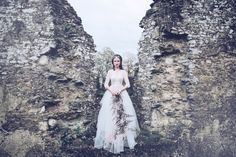 Fine Art Wedding Photography UK A Gothic Bridal Inspiration Shoot styled by Miss Munro, dedicated to showcasing the femininity and beauty of brides who want to stand out from the crowd by adding dark and unusual touches to their classic wedding attire.