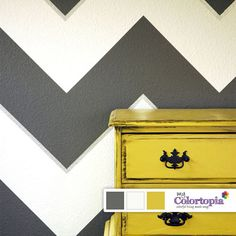 d4a153777a31 Find your perfect paint palate according to your personality! Chevron  Painted Walls