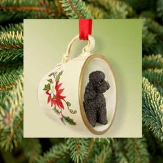 The MeadowTree Journal: Poodle Time! Deck The Tree With Poodles