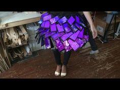 World's first smartphone skirt - Click - BBC News